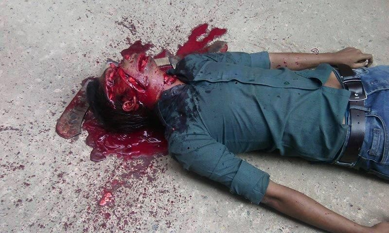 Washiqur Rahman Babu was declared dead as he was taken to a government hospital shortly after being attacked in Dhaka's Tejgaon area.